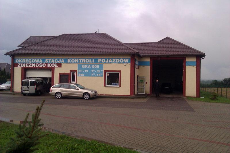 Stacja Kontroli Pojazdów Europak Dzierżążno